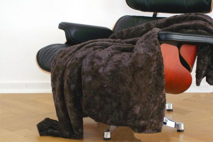 CARMA imitation fur Lamm brown