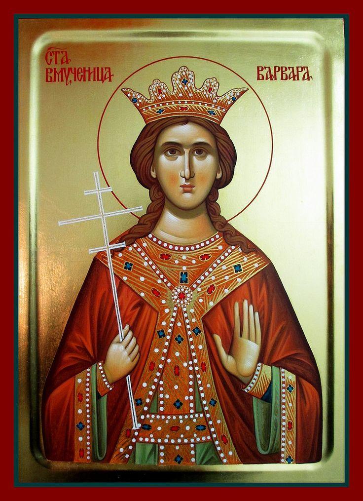 St. Barbara by Aleksandra Graovac of Serbia