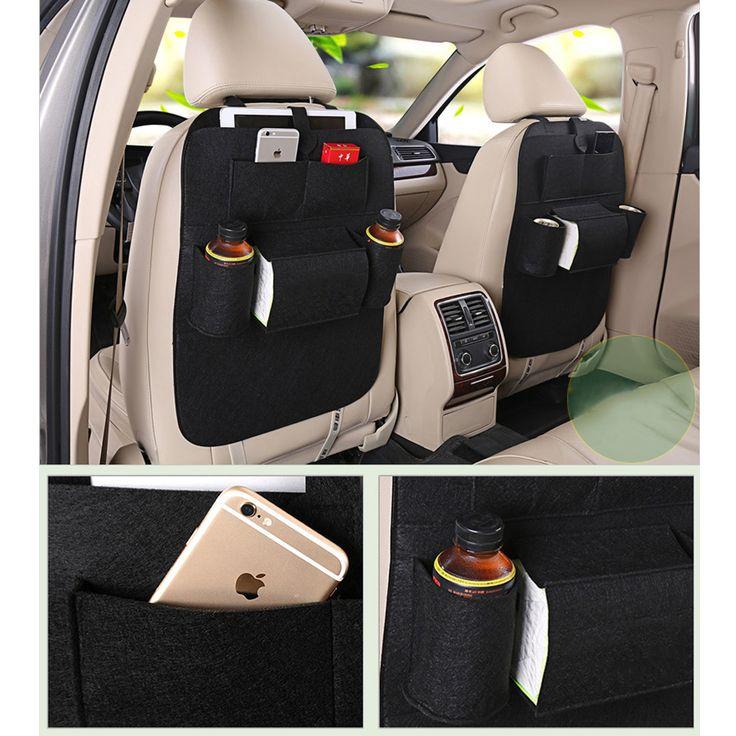Hot Car Sedile posteriore di immagazzinaggio ricevi borse Pocket Car Care Accessori Interni Borsa Da Viaggio Sacchetti di Stivaggio Riordino car styling