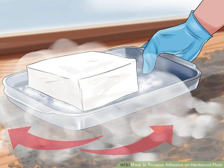 How to remove adhesive on hardwood floor hardwood floors