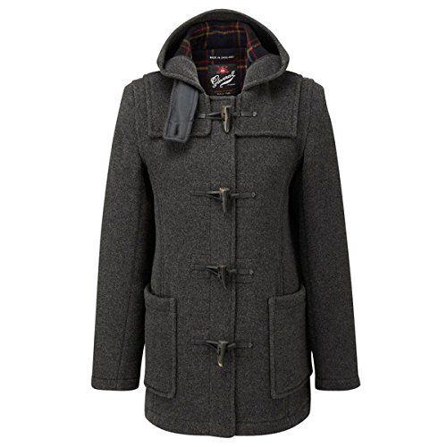 Fabulous  Gloverall Mid Length Slim Duffle Coat