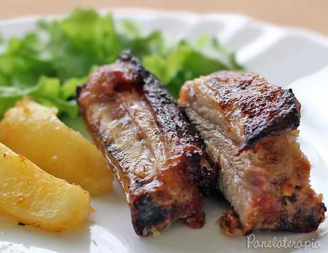 Costelinha de Porco Assada ~ PANELATERAPIA - Blog de Culinária, Gastronomia e Receitas
