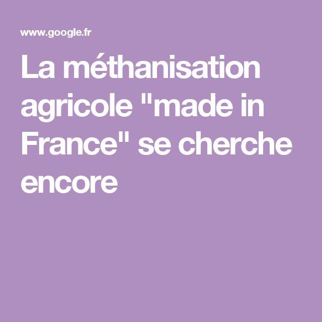 """La méthanisation agricole """"made in France"""" se cherche encore"""