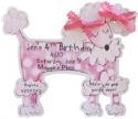 Poodle Party invitation from itty bitty co