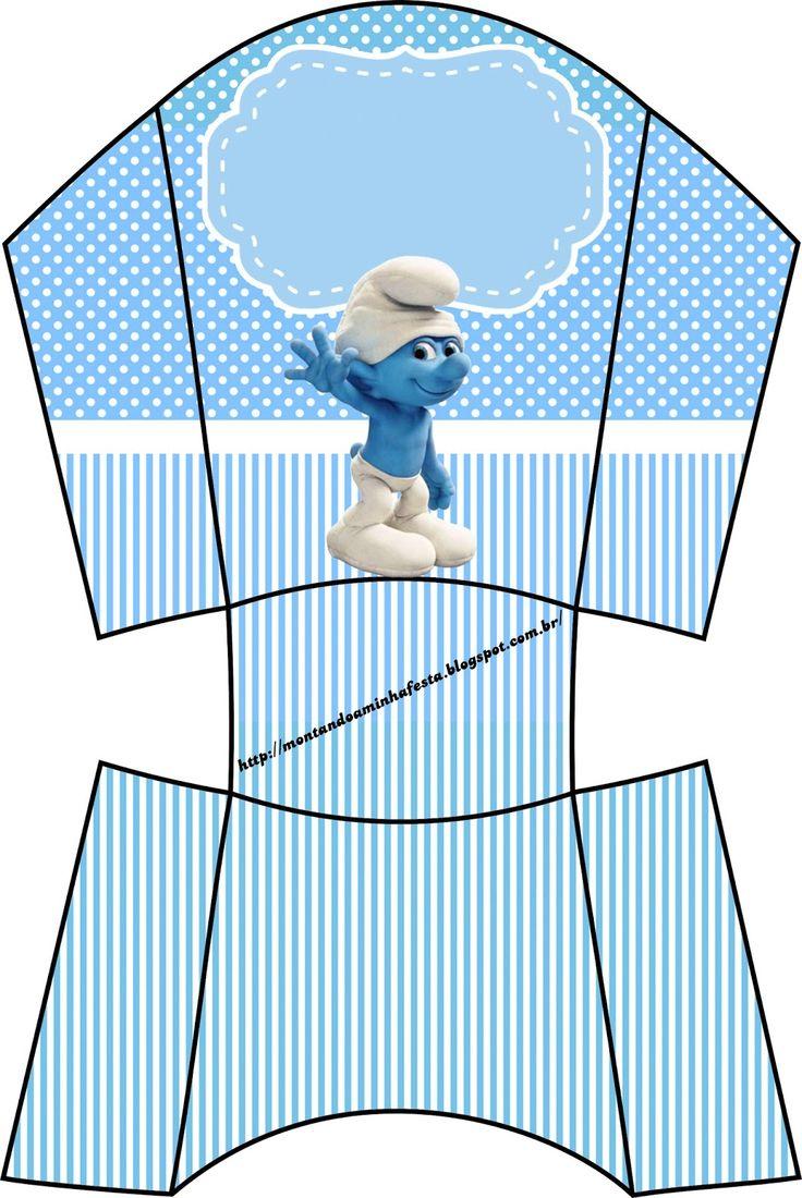 LARGE SET-- http://montandoaminhafesta.blogspot.com.br/2013/08/OsSmurfs2.html