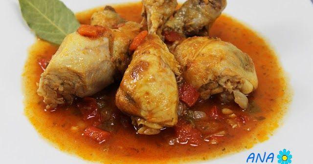 Pollo con tomate olla GM, pollo entomatado olla GM. pollo guisado olla gm. recetas con pollo olla gm,