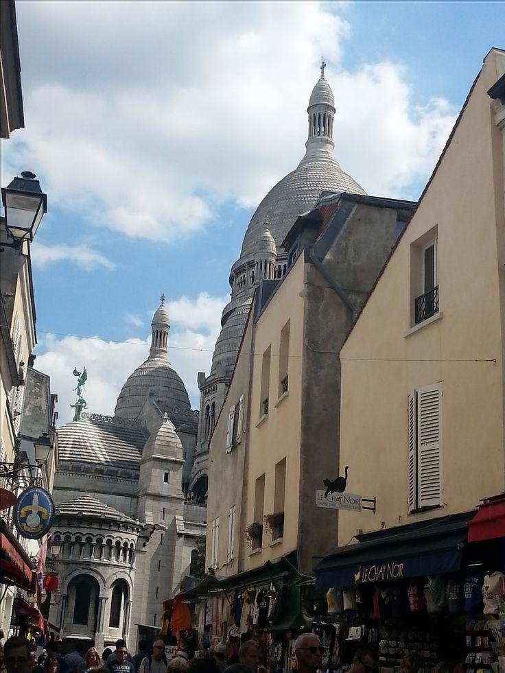 Le Sacre Coeur in Montmartre