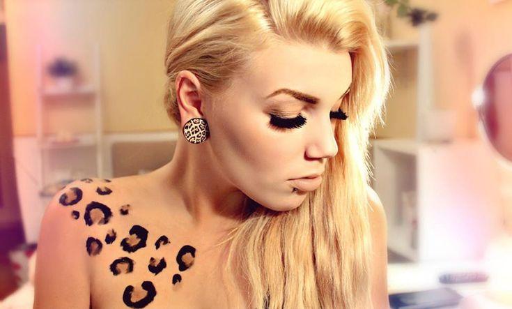 Los tatuajes de manchas de leopardo y su significado - http://www.tatuantes.com/tatuajes-de-manchas-de-leopardo-significado/ #tattoo