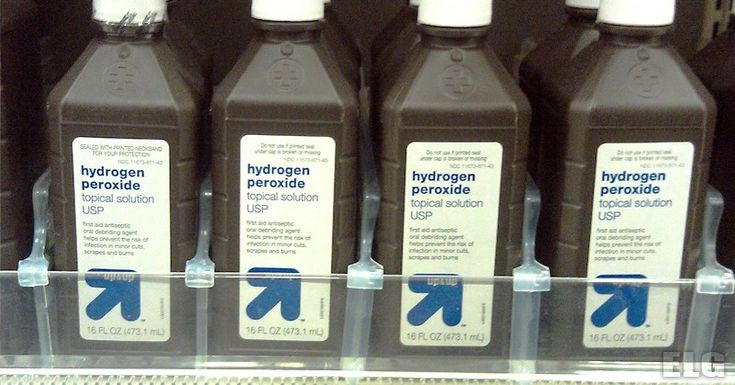 You probably have a bottle of hydrogen peroxide in your kitchen or bathroom cabinet right now.