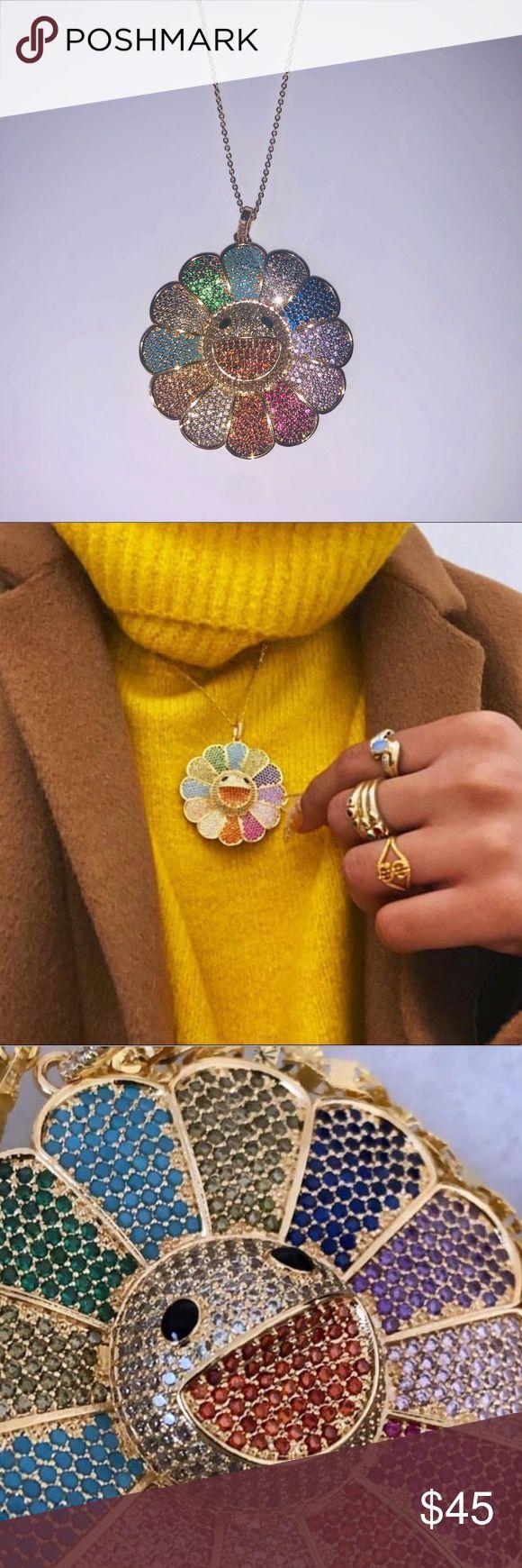 Takashi Murakami Flower Necklace Murakami flower necklace