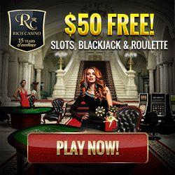 Rich Casino Reviews. Rich USA Online Casinos Rankings, Ratings & No Deposit Bonuses. . Play Online Slots Real Money at Rich Casino Using Exclusive Bonuses