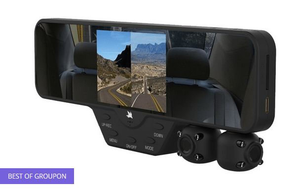 New #Deal Available - Falcon Zero F360 HD Car Rear-View Mirror Dash Cam with 2 Built-In Cameras @ https://igrabbedit.com/falcon-zero-f360-hd-car-rear-view-mirror-dash-cam-2-built-cameras-3/
