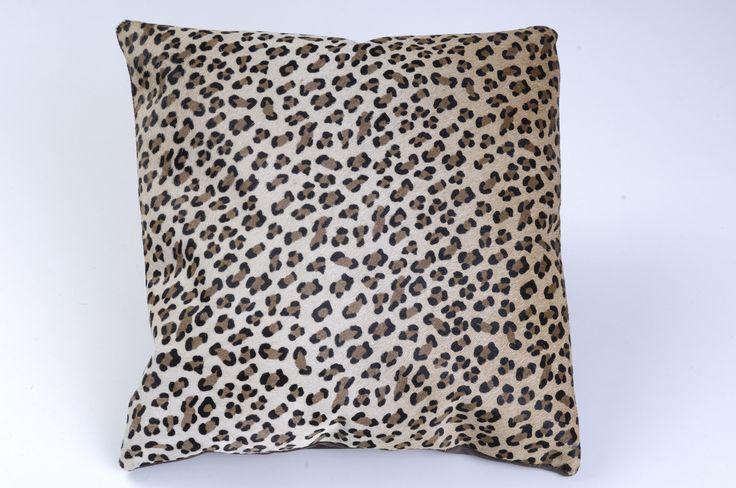 African Leather Cojines. Medellín Colombia. Cojines estampados en cuero, en diferentes animales exóticos. Decoración para el Hogar, Animal Print.