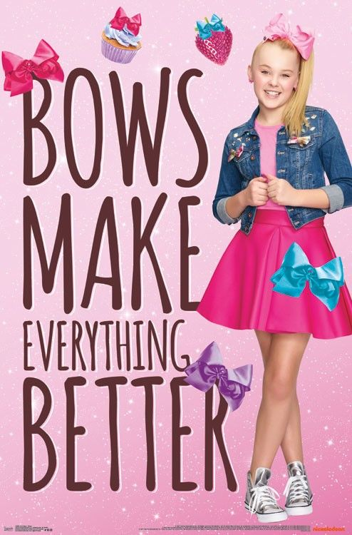 JoJo Siwa - Bows Make Everything Better http://amzn.to/2o9wvN2