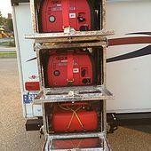 Generator Boxes for Travel Trailers Camper Honda Storage Box RV Generator Box