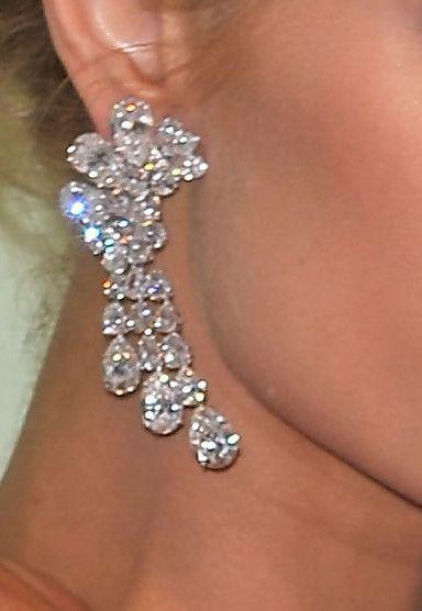 paris Jewelry | Diamond Chandelier Earrings From Hollywood « Jewelry Trends
