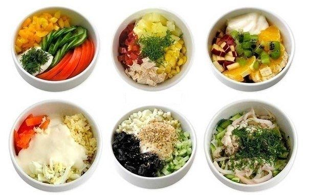 6 самых полезных и простых салатов 0