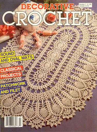 Decorative Crochet Magazines 7 - Gitte Andersen - Álbuns da web do Picasa...FREE MAGAZINE!!