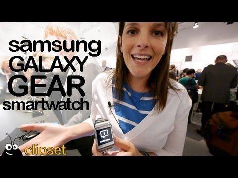 Samsung Galaxy Gear smartwatch preview