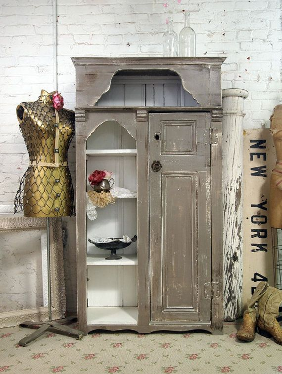 Handmade One Of A Kind Farmhouse Cabinet FH204 By Paintedcottages