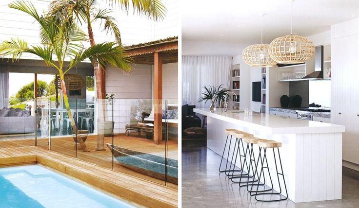 beach house in Australia