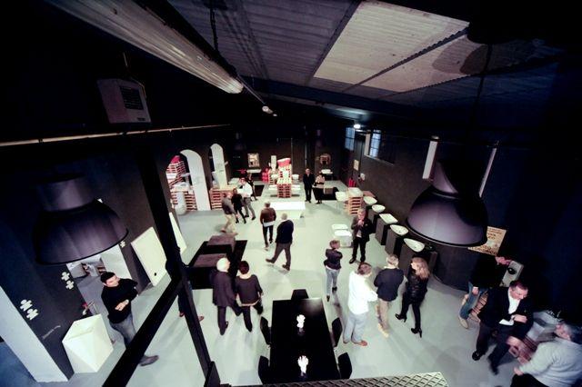 Artceram, spazio espositivo Bunker #bagno #bathroom #design