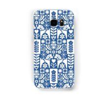 #swedish #folk #art #mid-century #mcm #blue #dala #horse #mia #miavaldez #redbubble #phonecase
