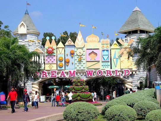 Dream World Theme Park in Bangkok, Thailand