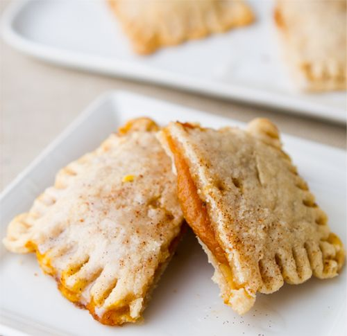 Pumpkin Pie Pockets with Vanilla Glaze | Food | Pinterest ...
