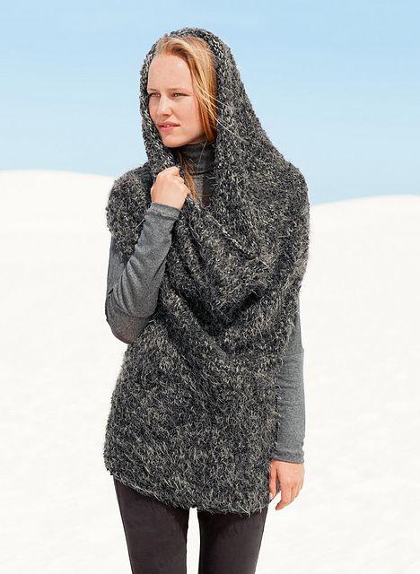 Ravelry: 872 Two-way tube sweater pattern by Bergère de France