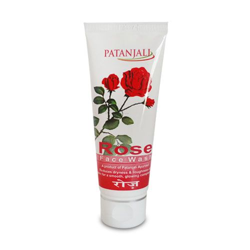 Roes face wash useful in dryness & roughness of skin and reduce pimples . ROSE FACE WASH 60gm Price Rs.45