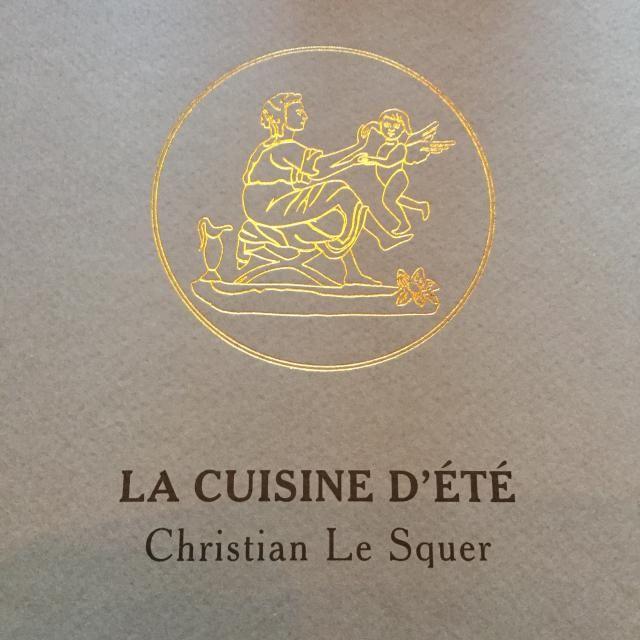 Michelin Star Dining Event: Le Cinq Paris: Chef Christian Le Squer