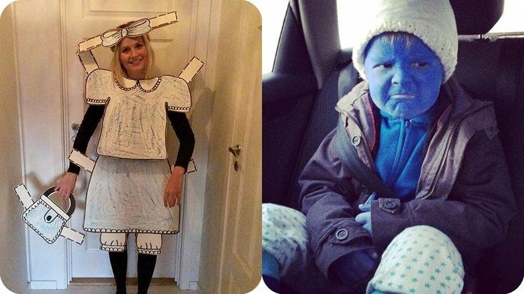 Karnevalsidéer- kostymer en kan lage selv!