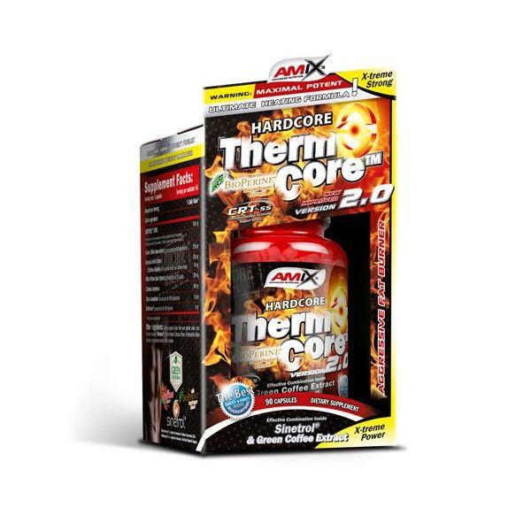 Amix™ ThermoCore™ 2.0 je nová inovovaná forma spalovače tuku, kombinující 7 důležitých složek (Sinetrol®, Green Coffee, Caffeine, Guarana, Synephrine, Salicin a BioPerine®)