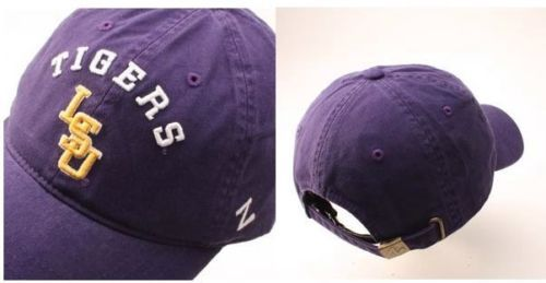 Zephyr-LSU-Tigers-Centerpiece-Relaxed-Adjustable-Hat-Purple-Size-OSFM-NWT
