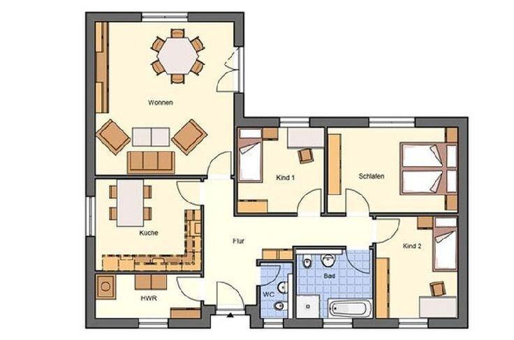 Model casa Brale-440, 111,82 mp, 4 camere, Proiect Haus xxl
