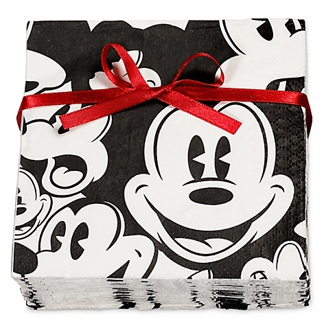 Mickey Mouse Napkins, Problem Is I Wouldnu0027t Want To Use Them Because They