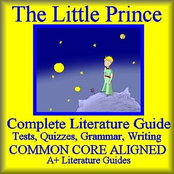 study guide for the little prince Don't want to read the actual book tired of reading super long reviews this new study guide is perfect for you this study guide provides a short and concise.
