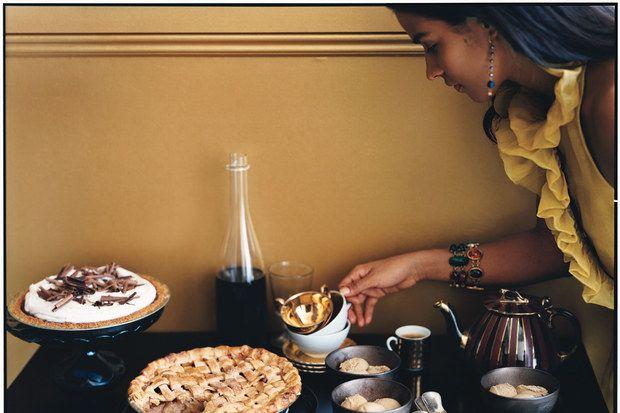 Lattice Apple Pie with Mexican Brown Sugar recipe | Epicurious.com