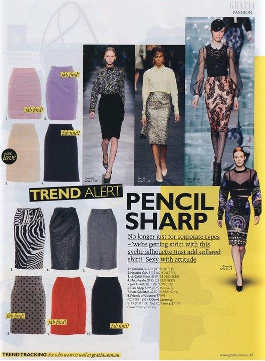 Natasha Gan on Grazia magazine