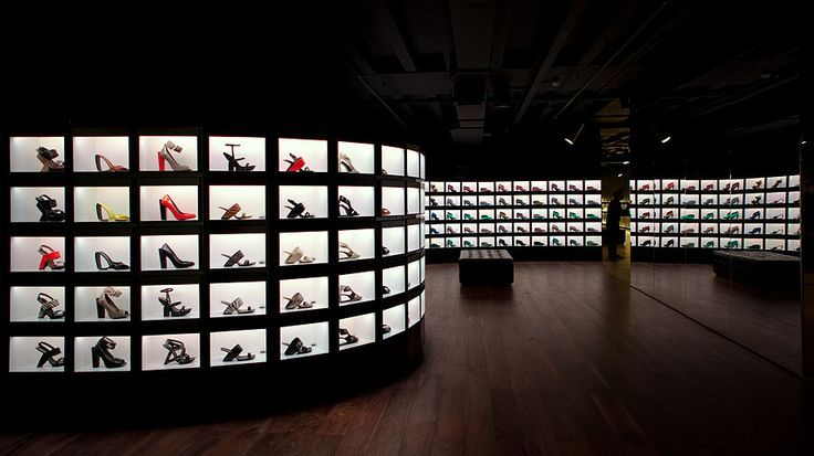 amazing shoe display - Google Search