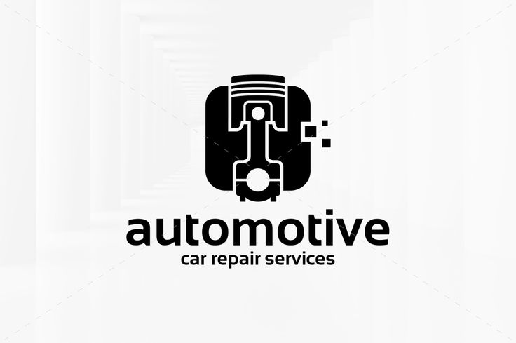 Automotive Logo Template by LiveAtTheBBQ on @creativemarket