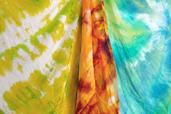 Узелковый батик (он же шибори, он же тай-дай)image