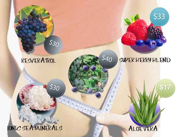 A blend of 5 super ingredients in Patagonian Maqui Berry Juice