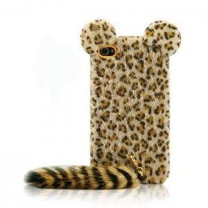 Coque léopard fourrure iPhone 5 : Optez pour une protection originale ! Cette coque léopard iPhone 5 est en fourrure. Votre téléphone sera, à présent, protégé contre les chutes.