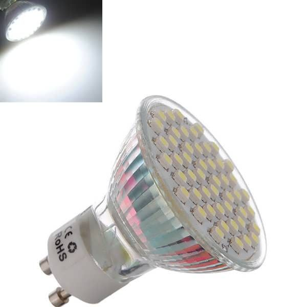 GU10 3W Pure White 48 3528 SMD LED Spot Downlight Bulb 195-240V AC  Worldwide delivery. Original best quality product for 70% of it's real price. Buying this product is extra profitable, because we have good production source. 1 day products dispatch from warehouse. Fast & reliable...