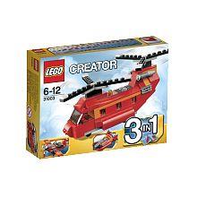 Lego Creator - L'hélicoptère bi-rotors - 31003  - marque : Lego Abaisse la rampe, charge les marchandises et vole vers l'héliport à bord de cet hélicoptère bi-rotors ! Avec d'énormes rotors doubles, aucune charge n'est trop lourde pour cet... prix : 11.99 €  chez Toys R us #Lego #ToysRus