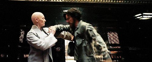 DOCTOR STRANGE (2016) ~ Tilda Swinton (left) & Benedict Cumberbatch (right). From the first official trailer. [GIF]