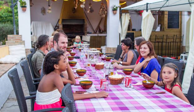 Andalusië, Spanje - familie arrangementen en table d'hote op mooie plek in zuid Spanje