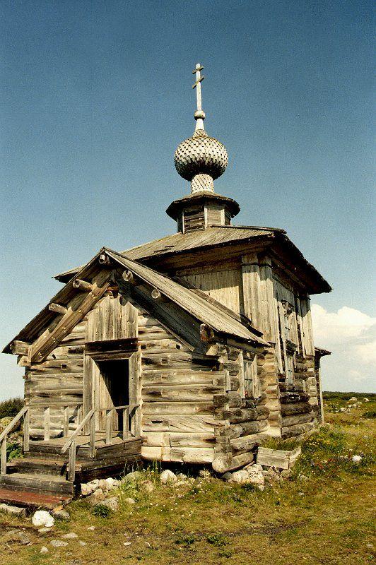St. Andrew Church. Zayatsky Island, Solovki Archipelago, Northern Russia